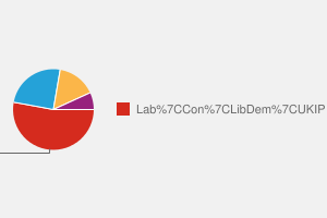 2010 General Election result in Warley